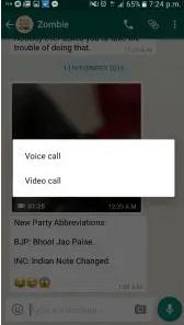 Come usare le videochiamate di WhatsApp