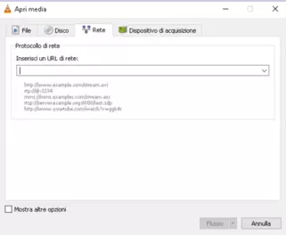 Come guardare filmati in streaming su VLC