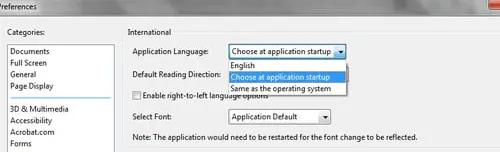 Come modificare lingua su Adobe Reader