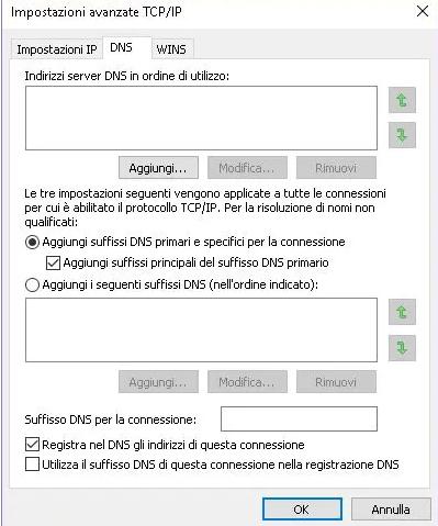Come modificare DNS per usare quelli di Google