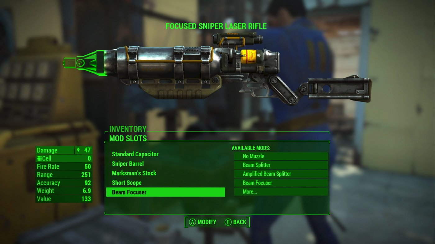 Come ottenere soldi, armi e munizioni infinite in Fallout 4