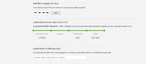 Come configurare correttamente filtro famiglia su Netflix