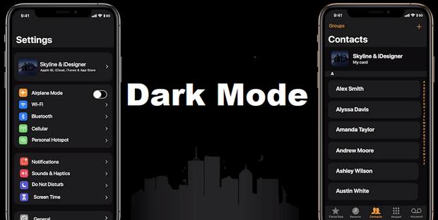 Come attivare la modalità scura di iPhone 11