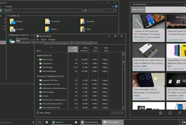 Come impostare la modalità scura su Windows 10