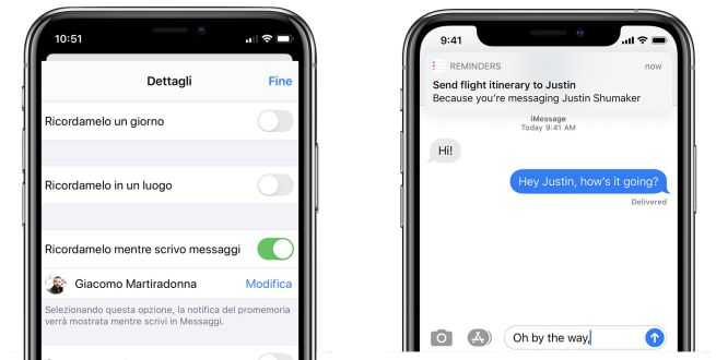Come impostare promemoria su iMessage con iPhone 11 Pro