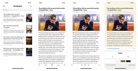 Come leggere articoli e notizie su Kindle